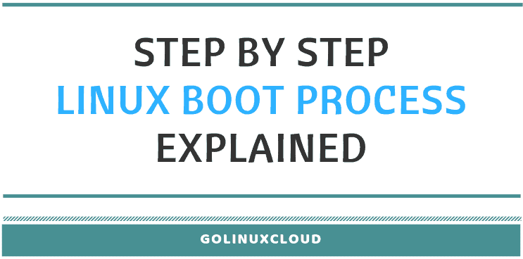 step by step linux boot process explained in detail