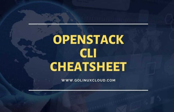 OpenStack Command Line Cheat Sheet (Beginner's Guide)