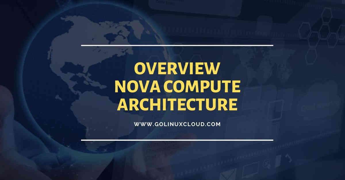 Understanding nova compute architecture basics in Openstack (flow chart)