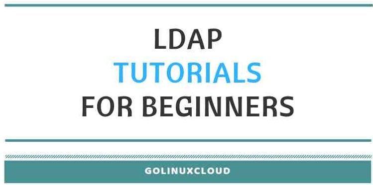 Basics OpenLDAP Tutorial for Beginners - Understanding