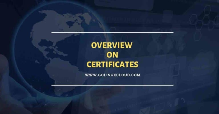 Beginners guide on PKI, Certificates, Extensions, CA, CRL and OCSP