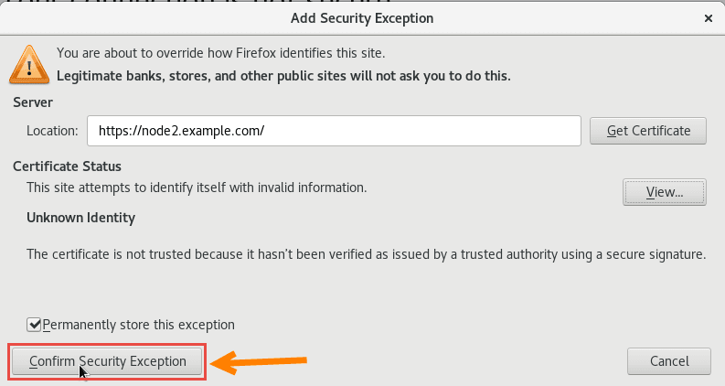 Securely transfer files between two hosts using HTTPS in Linux