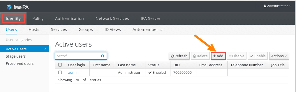 Tutorial: Install & Configure FreeIPA Server & Client (RHEL/CentOS 7)