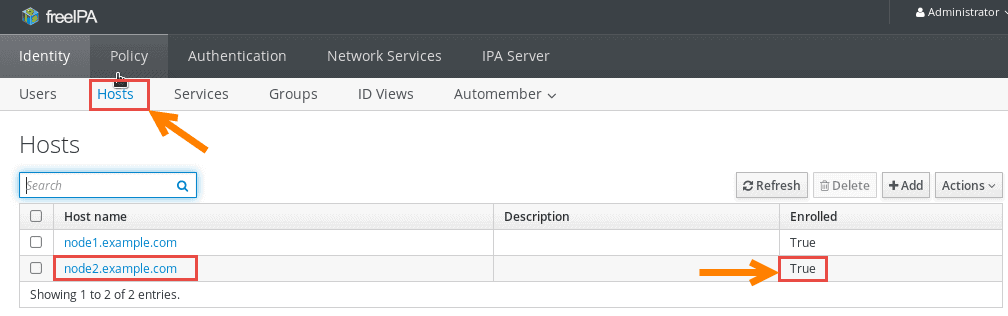 Tutorial: Install & Configure FreeIPA Server & Client (RHEL/CentOS 7)