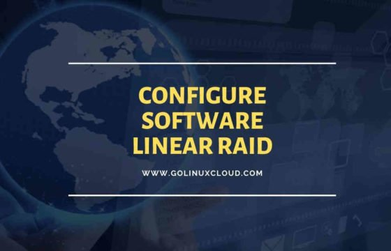 Step-by-Step Tutorial: Configure software Linear RAID 0 in Linux