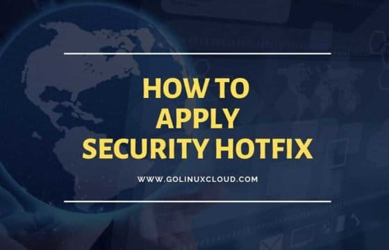 How to perform patch management & apply security hotfix (with rollback) in RHEL