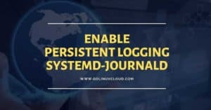 How to enable persistent logging in systemd-journald without reboot