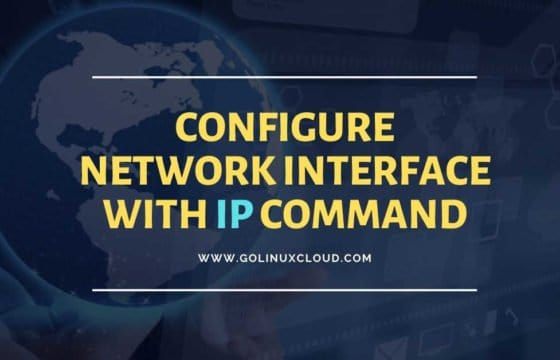 16 ip command examples to configure network interfaces (cheatsheet)