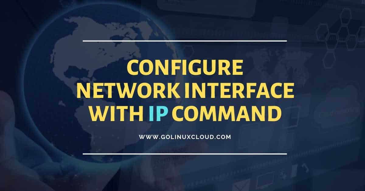 16 Linux ip command examples to configure network interfaces (cheatsheet)