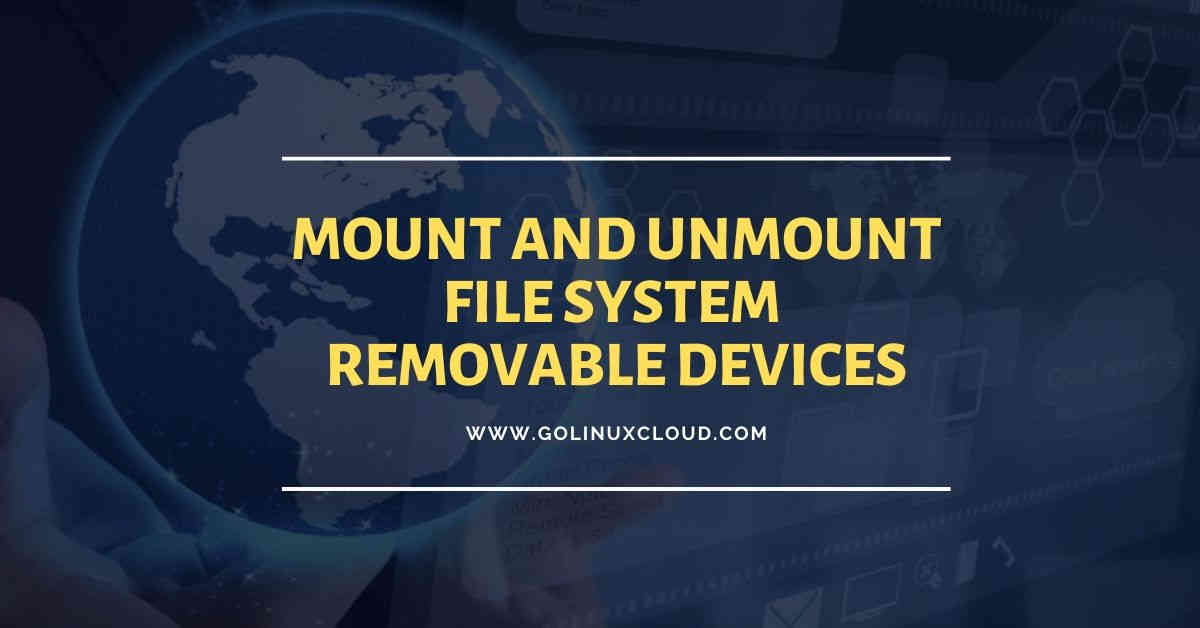 Linux mount command to access filesystems, iso image, usb, network drives