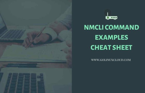 27 nmcli command examples (cheatsheet), compare nm-settings with if-cfg file