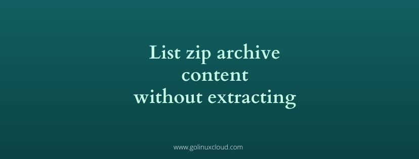 How to zip a folder | 16 Linux zip command examples