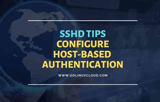 Step-by-Step Tutorial: Configure SSH Host Based Authentication Per User in Linux