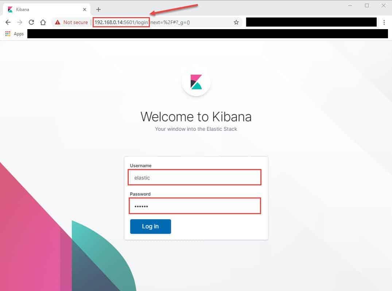 #3-ELK Stack: Configure kibana to monitor elasticsearch cluster
