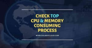 Shell script to check top memory & cpu consuming process in Linux
