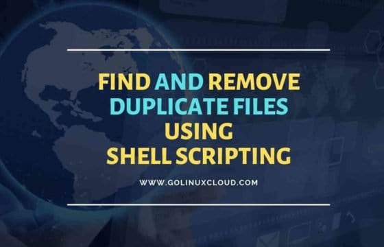 How to find and remove duplicate files using script in Linux