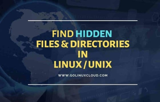 How to find, check size, show hidden folders and files in Linux or Unix