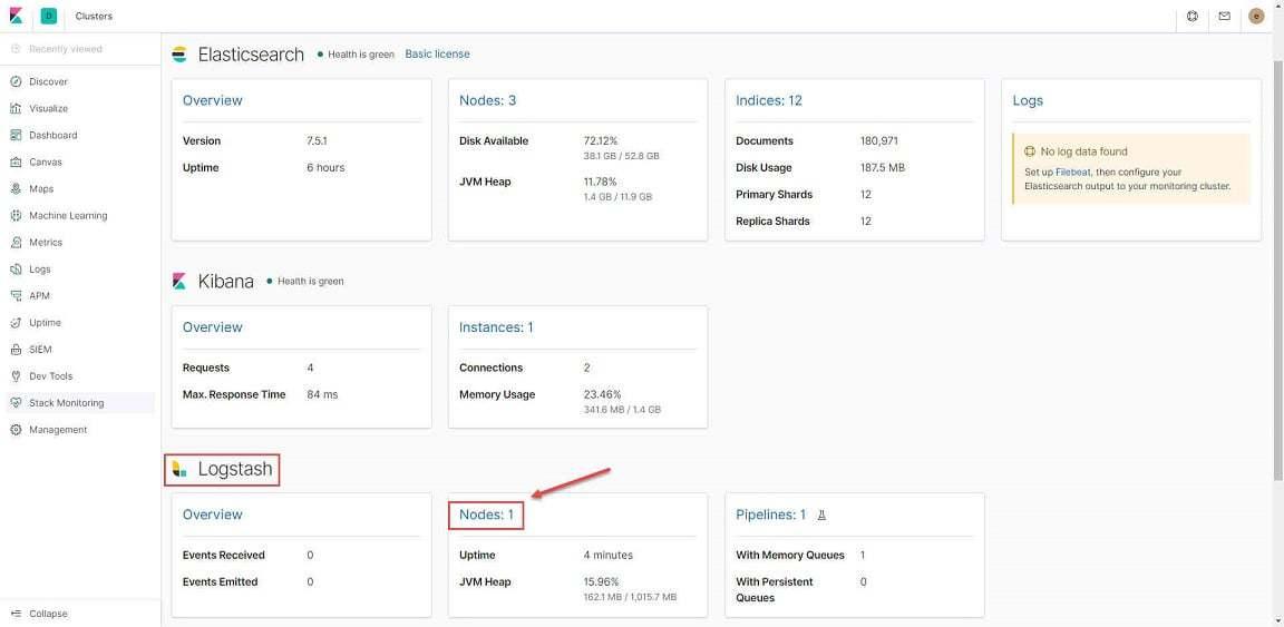 #5-ELK Stack: Configure logstash 7.x with data pipeline