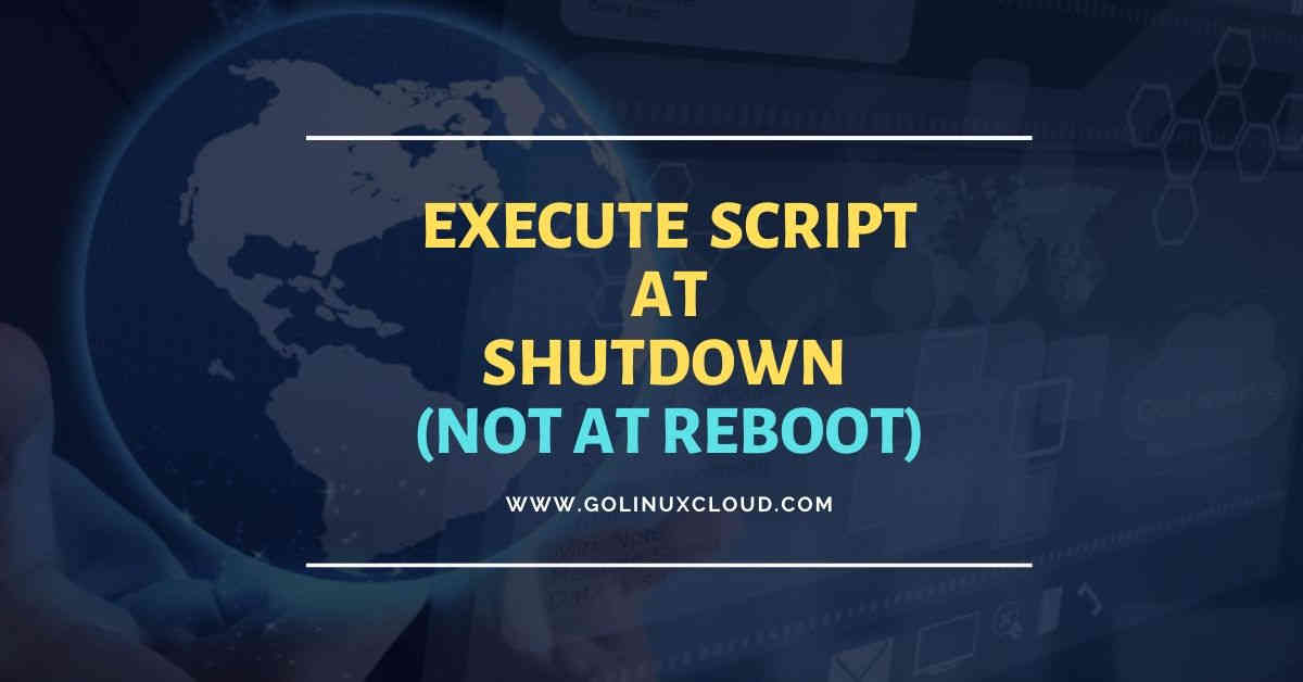 How to run script with systemd at shutdown only (not at reboot)