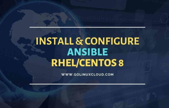 Beginners guide to install Ansible on RHEL/CentOS 8