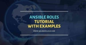 Create ansible role from scratch   Ansible roles example