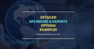 NFS mount options | NFS exports options | Beginners Guide