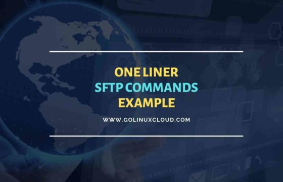 10 single line SFTP commands to transfer files in Unix/Linux