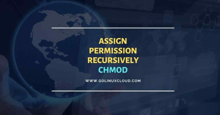 chmod recursive usage guide for absolute beginners