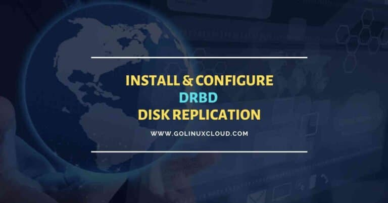 DRBD Tutorial | Setup Linux Disk Replication | CentOS 8