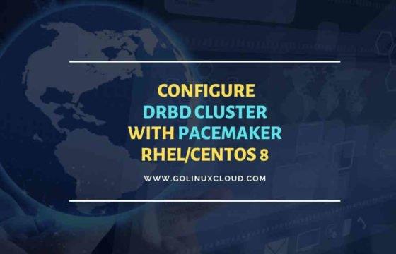 Setup KVM DRBD Cluster File System Pacemaker CentOS 8