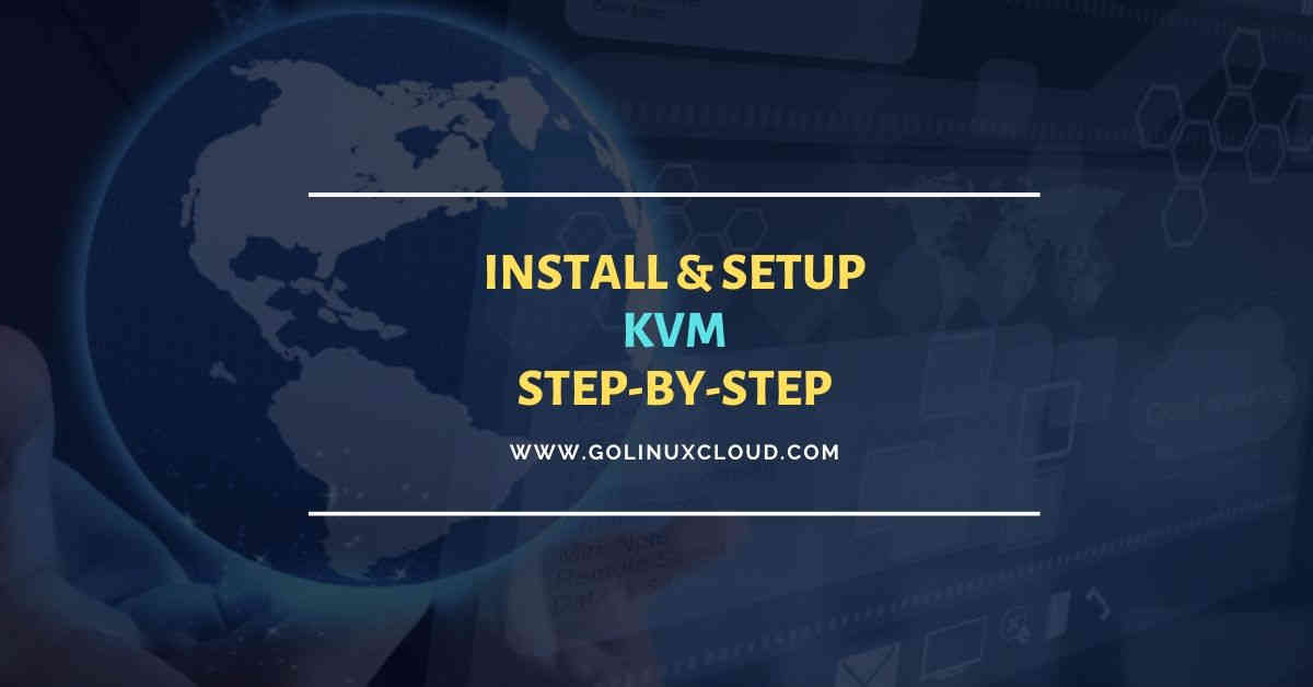 KVM Virtualization | Install KVM | RHEL/CentOS 8