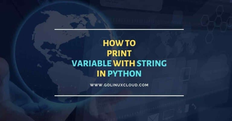 Print variables in python using 4 different methods
