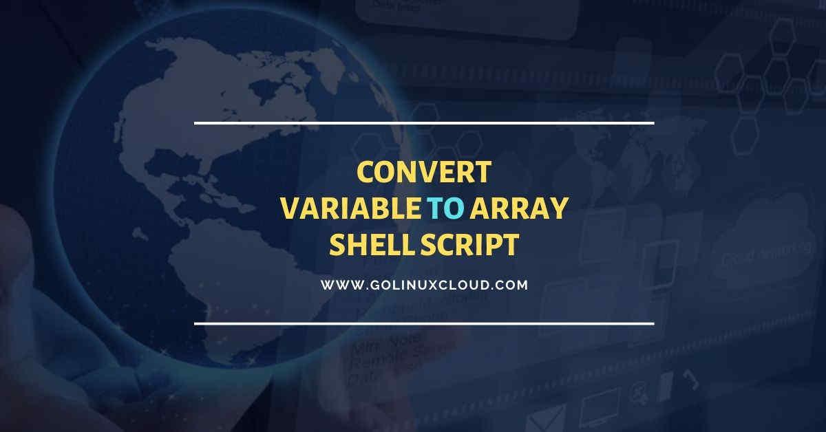 Bash split string into array using 4 simple methods
