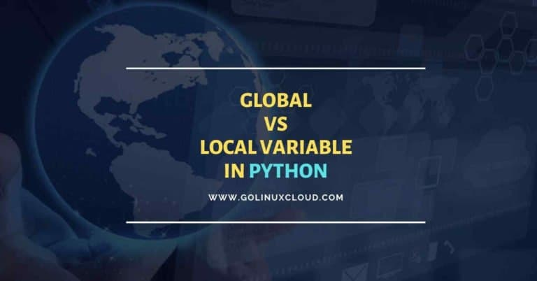 How to declare global variables in Python