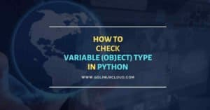 How to check type of variable in python