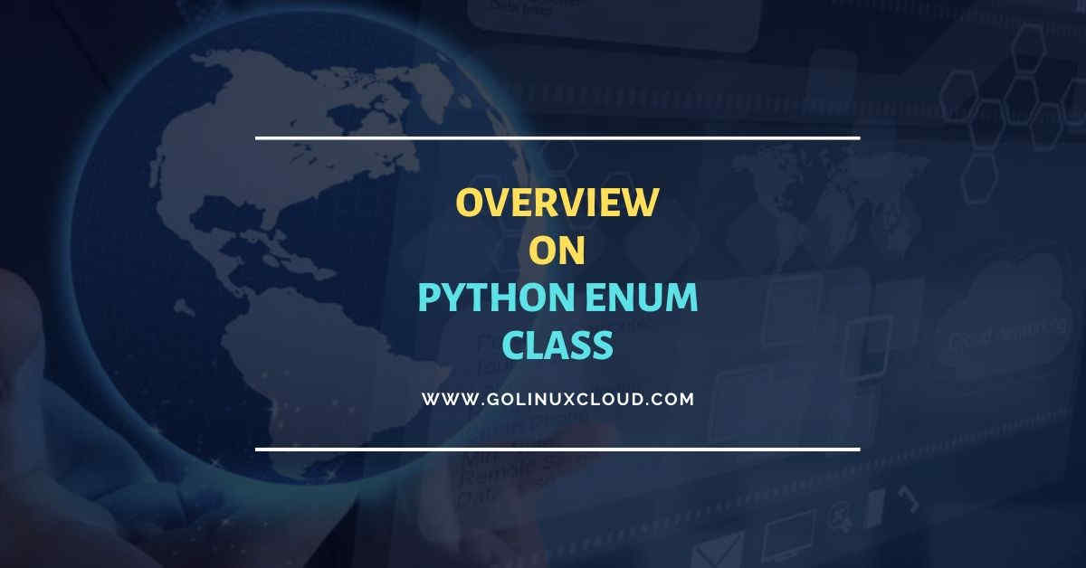 How to use enum class in Python with examples