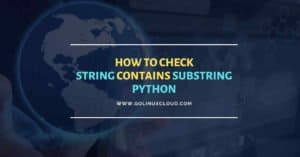How to check if python string contains substring