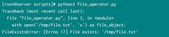python create text file