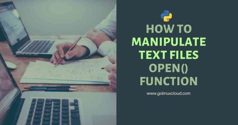 How to create, read, append, write to file in Python