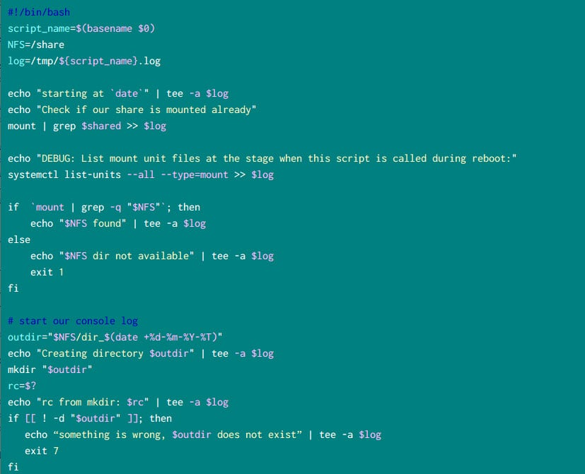 How to start systemd service after NFS mount in Linux