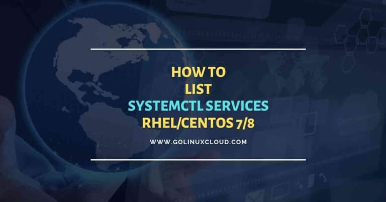 10+ commands to list all systemctl services with status