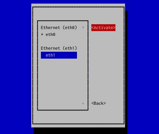 centos restart network