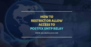 How to restrict IP Address to use postfix smtp relay
