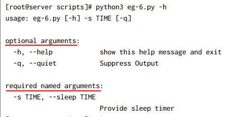 Python argparse (ArgumentParser) examples for beginners
