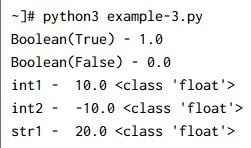 Python Numbers | Integers | Float | Complex Number