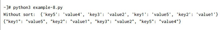 10 simple ways to sort dictionary by key in Python