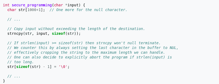 Defensive Programming Explained with Examples