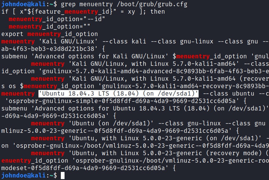 Dual boot Ubuntu with Kali Linux [Step-by-Step]