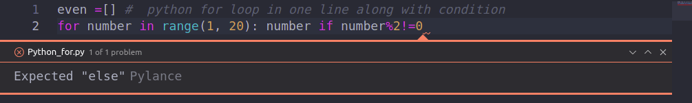 Python for loop in one line explained with easy examples