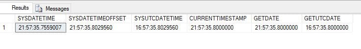 SQL Server Function -How to get time from time stamp sql Sample Output 2